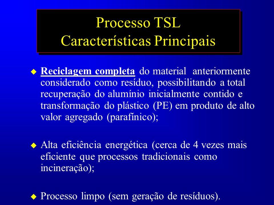 Processo TSL Características Principais
