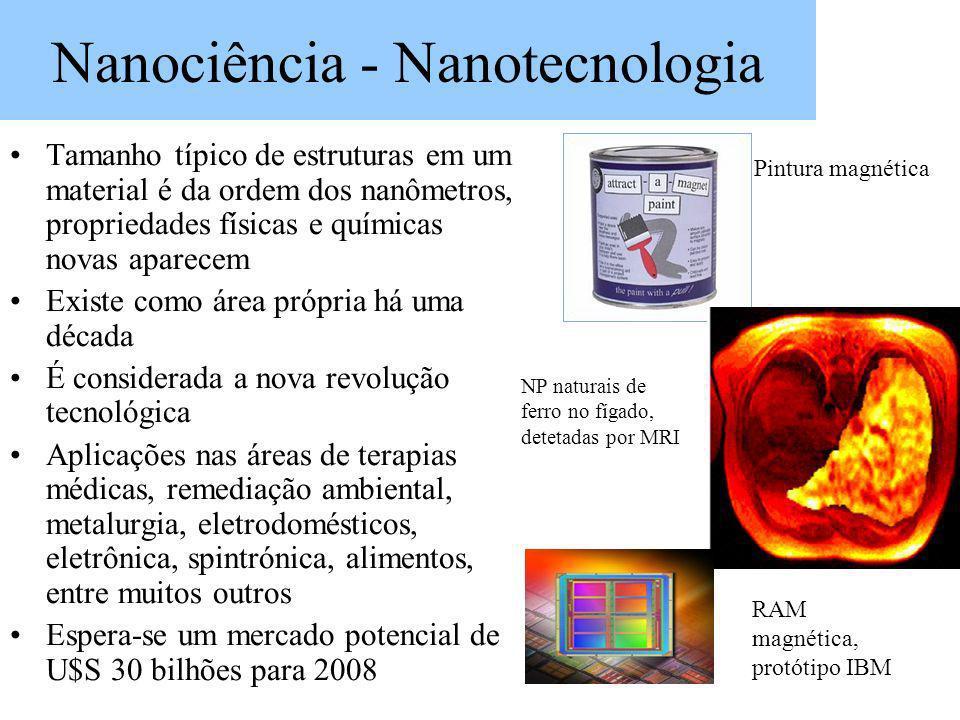 Nanociência - Nanotecnologia