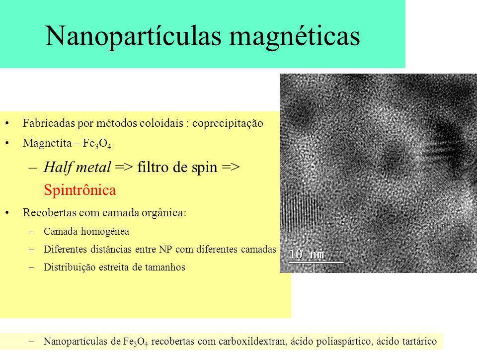 Nanopartículas magnéticas