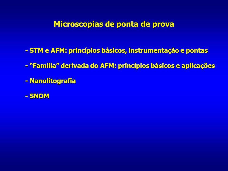 Microscopias de ponta de prova