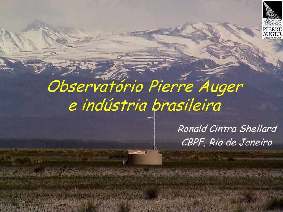 Observatório Pierre Auger e indústria brasileira