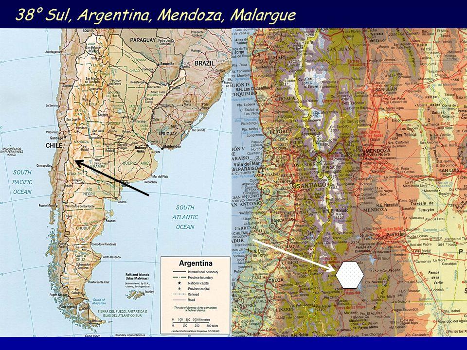 38° Sul, Argentina, Mendoza, Malargue