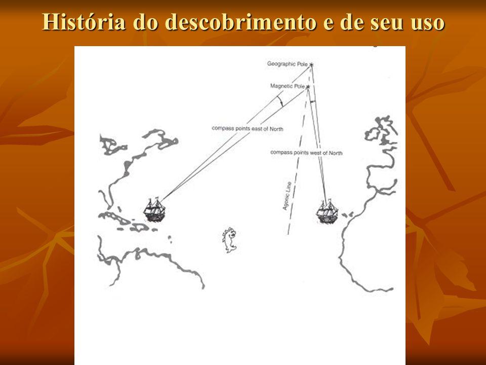 História do descobrimento e de seu uso