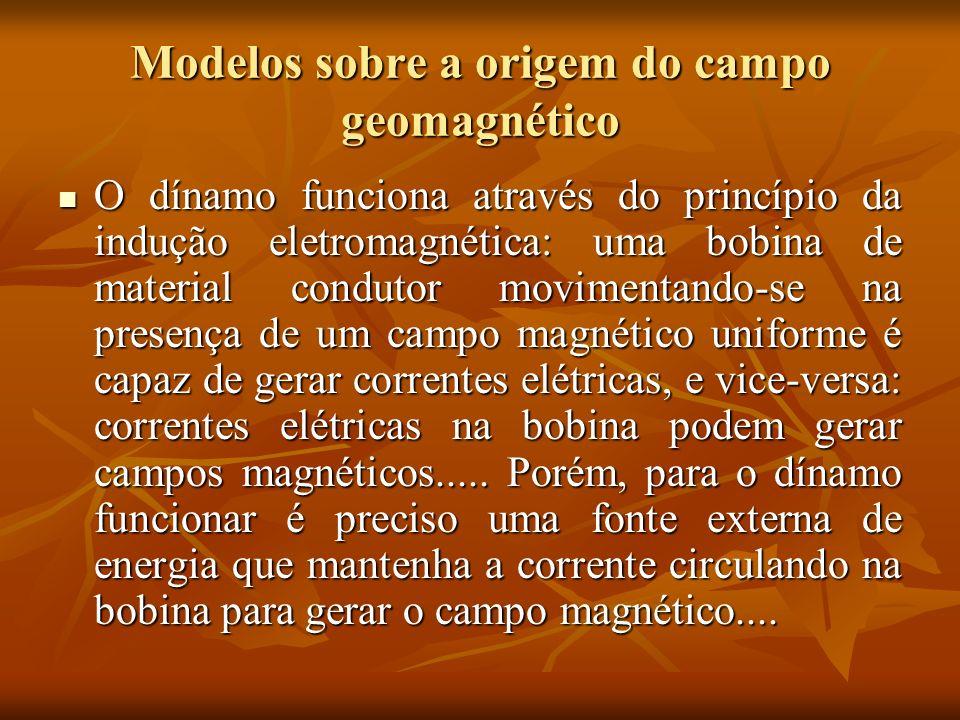 Modelos sobre a origem do campo geomagnético