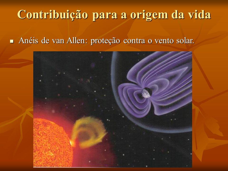 Contribuição para a origem da vida