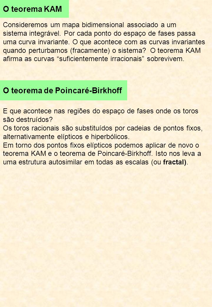 O teorema de Poincaré-Birkhoff