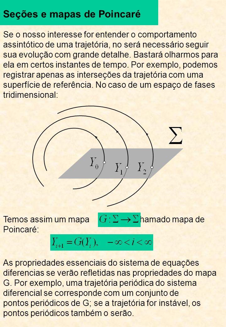 Seções e mapas de Poincaré