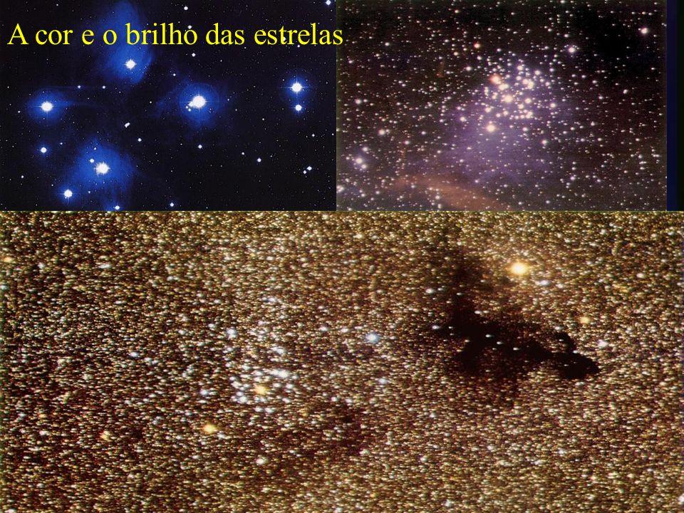 A cor e o brilho das estrelas