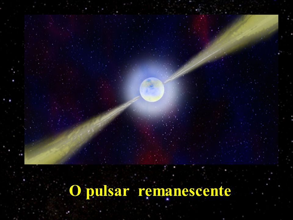 O pulsar remanescente