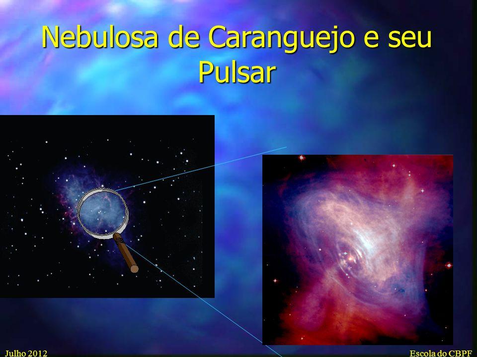 Nebulosa de Caranguejo e seu Pulsar