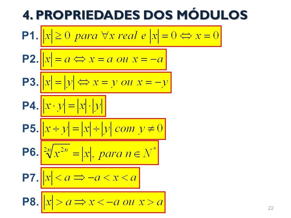 4. PROPRIEDADES DOS MÓDULOS