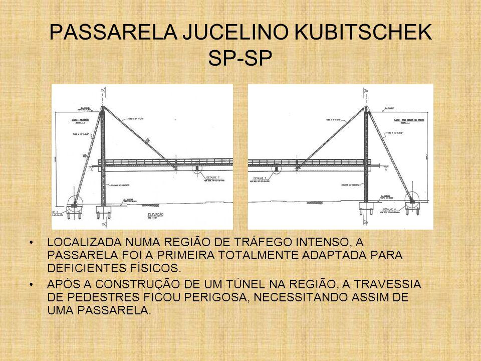 PASSARELA JUCELINO KUBITSCHEK SP-SP