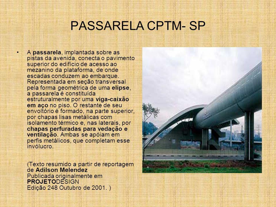 PASSARELA CPTM- SP