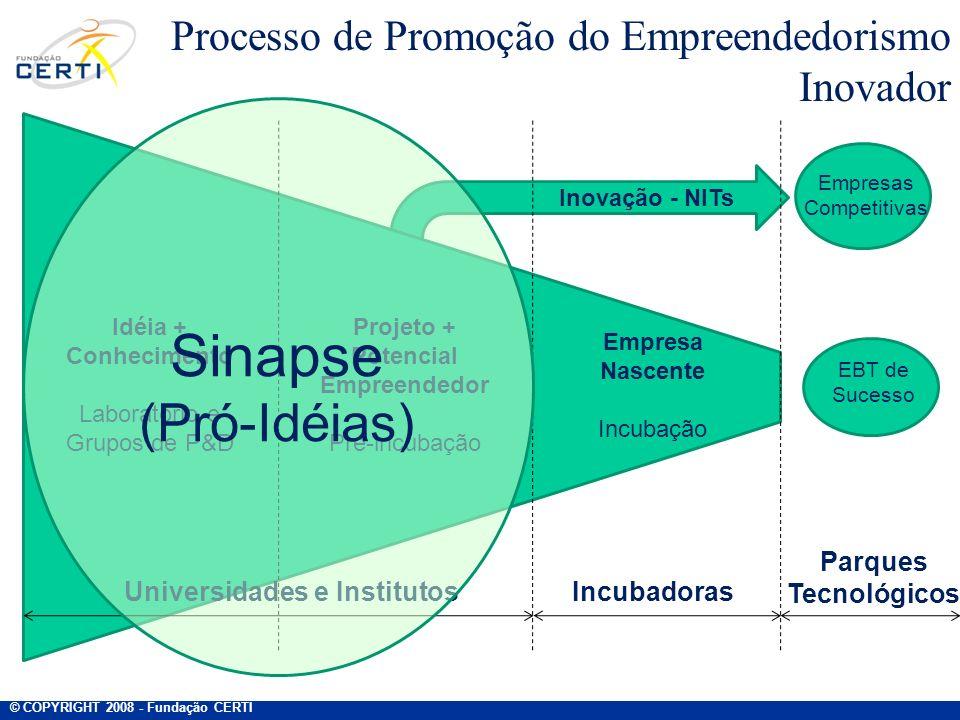 Processo de Promoção do Empreendedorismo Inovador