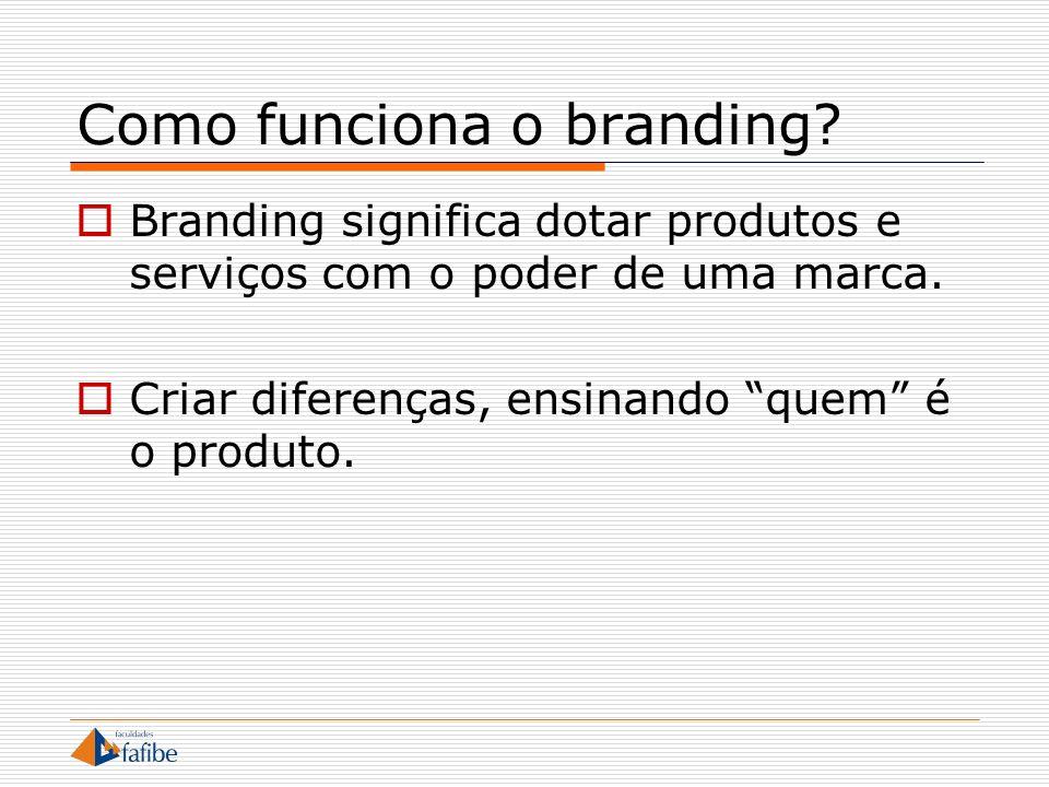 Como funciona o branding