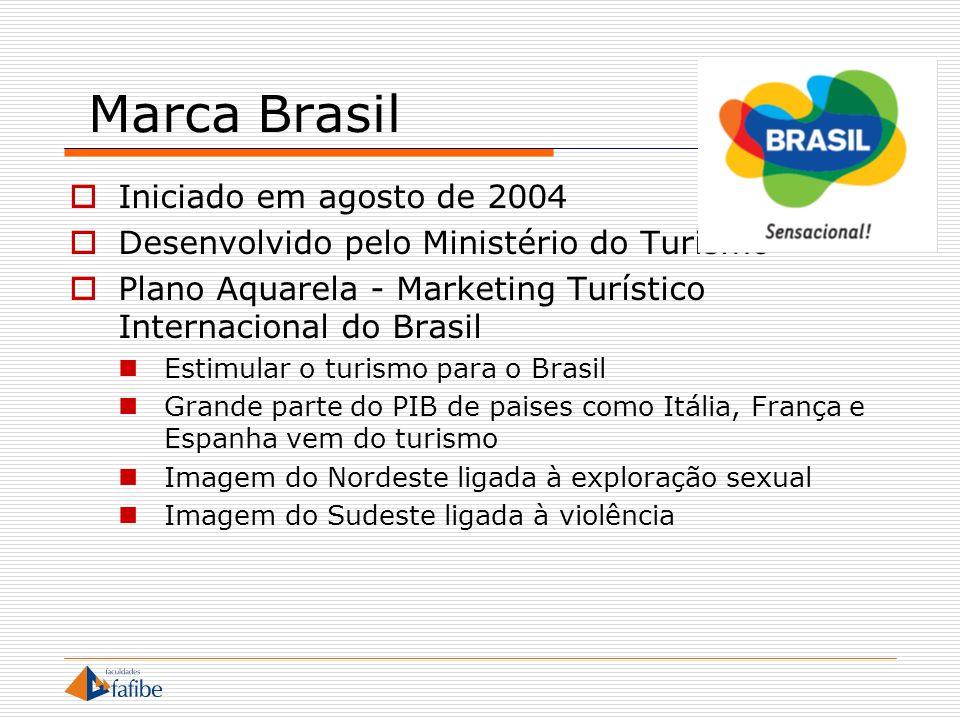 Marca Brasil Iniciado em agosto de 2004