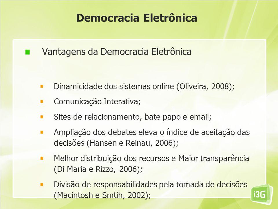 Democracia Eletrônica