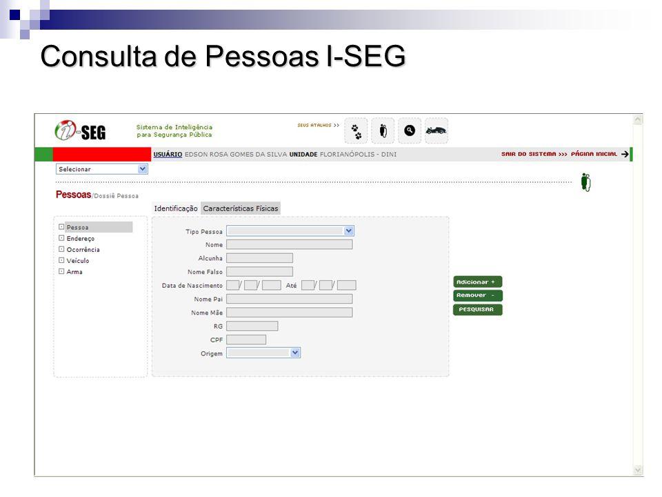 Consulta de Pessoas I-SEG