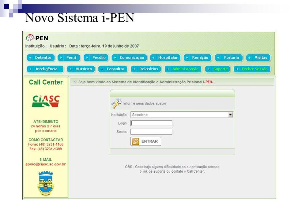 Novo Sistema i-PEN