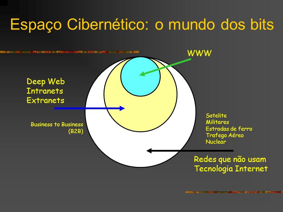 Espaço Cibernético: o mundo dos bits