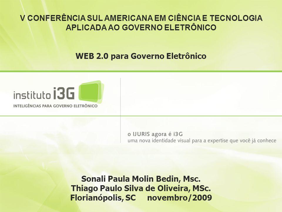 WEB 2.0 para Governo Eletrônico