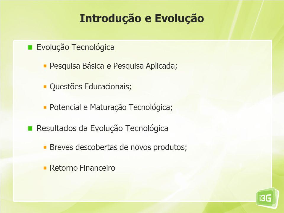 Introdução e Evolução Evolução Tecnológica