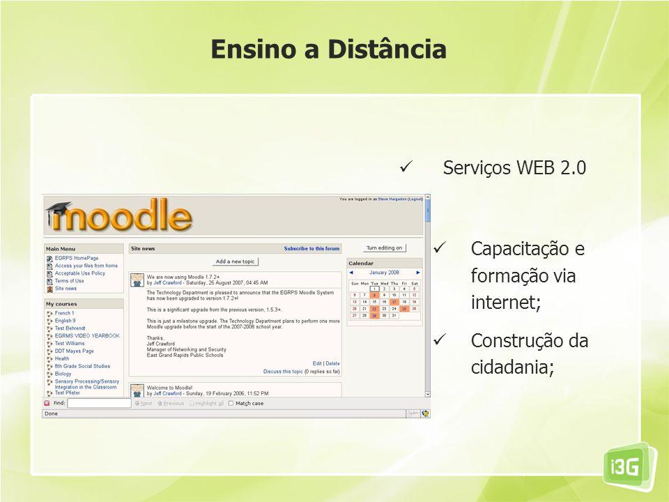 Ensino a Distância Serviços WEB 2.0