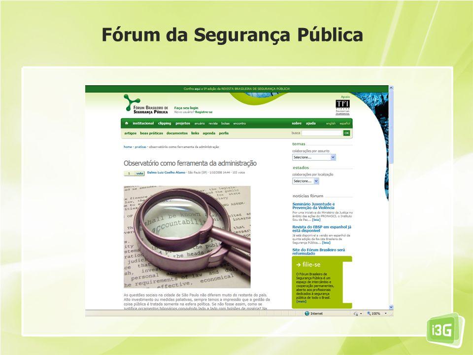 Fórum da Segurança Pública