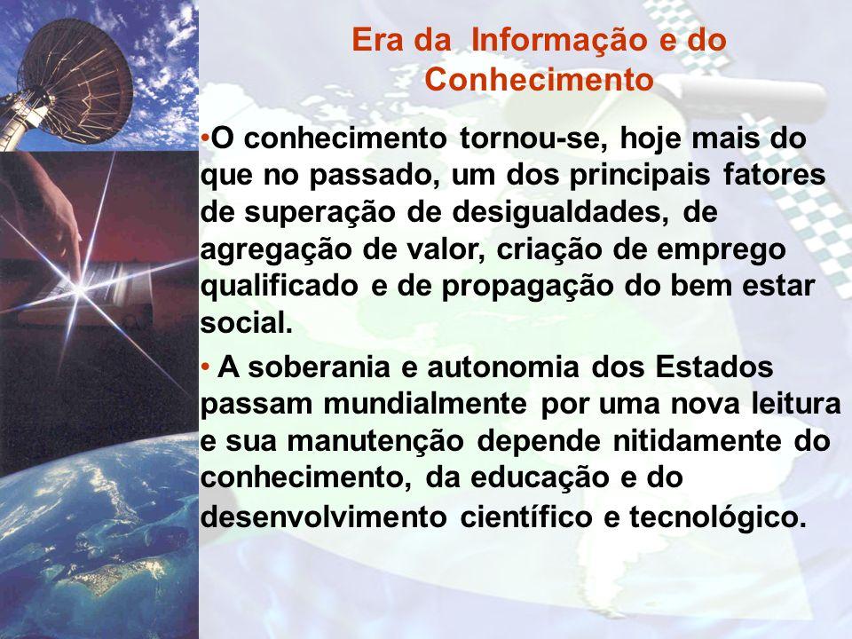 Era da Informação e do Conhecimento