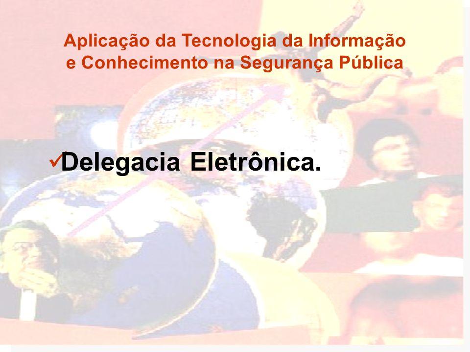 Aplicação da Tecnologia da Informação e Conhecimento na Segurança Pública