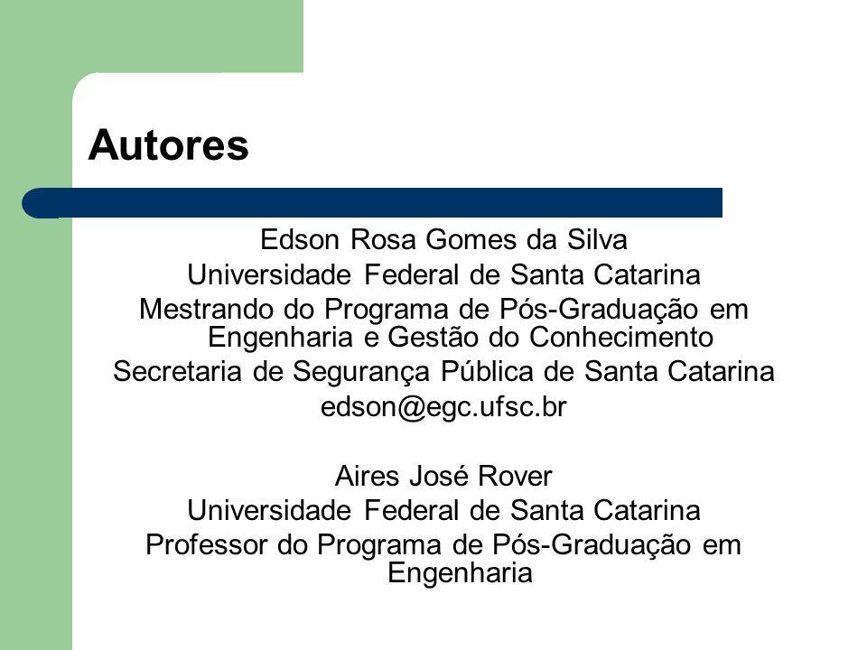 Autores Edson Rosa Gomes da Silva