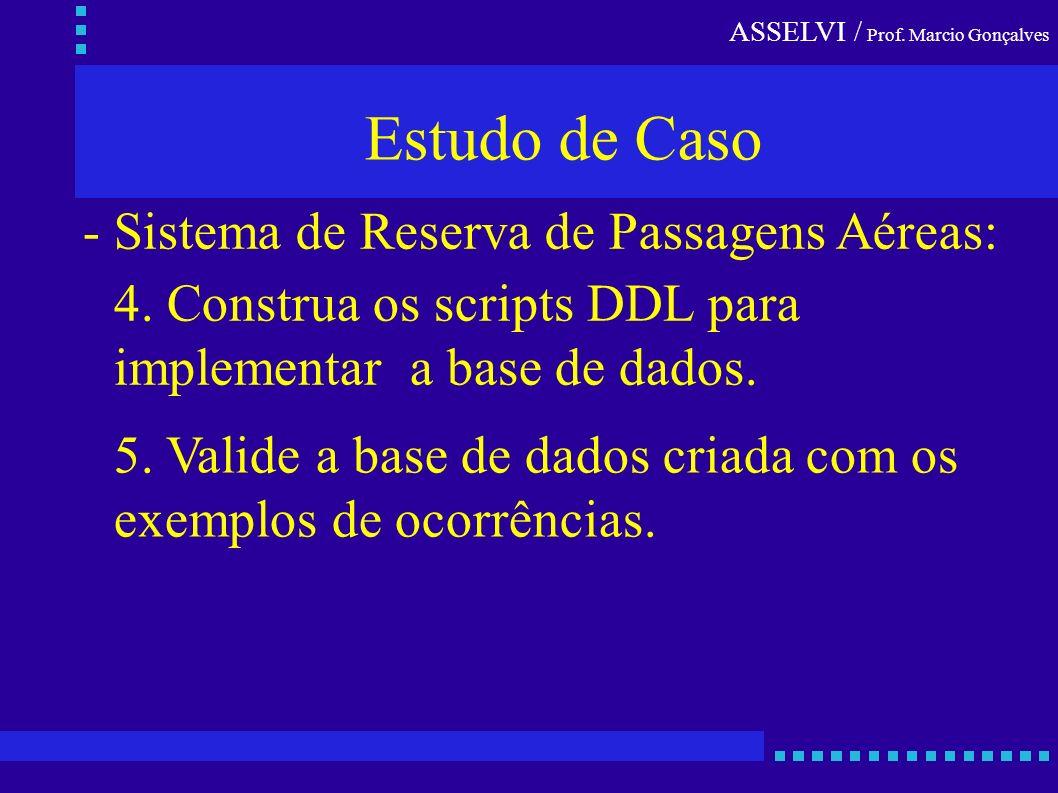 Estudo de Caso - Sistema de Reserva de Passagens Aéreas: