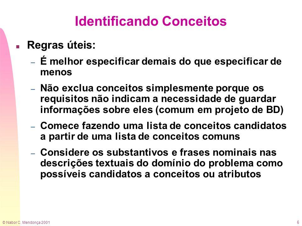 Identificando Conceitos