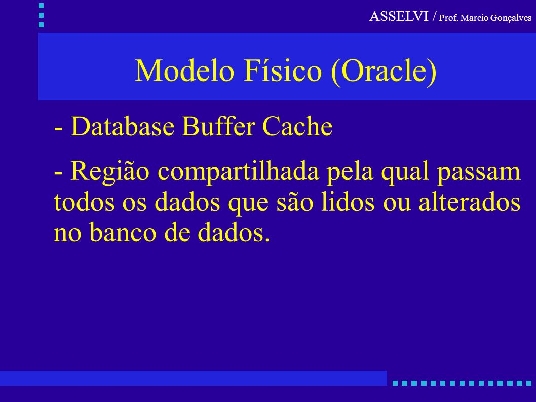 Modelo Físico (Oracle)