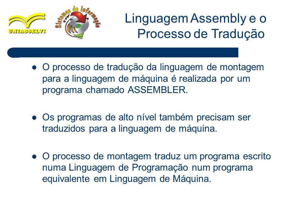Linguagem Assembly e o Processo de Tradução