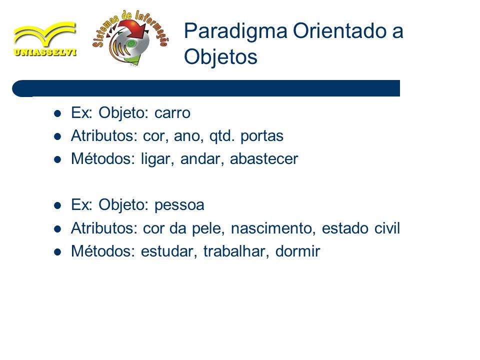 Paradigma Orientado a Objetos