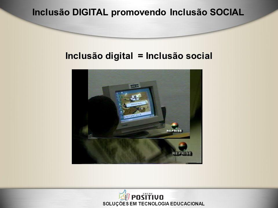 Inclusão digital = Inclusão social