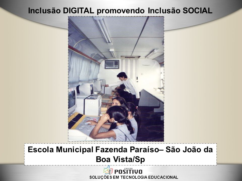 Escola Municipal Fazenda Paraíso– São João da Boa Vista/Sp