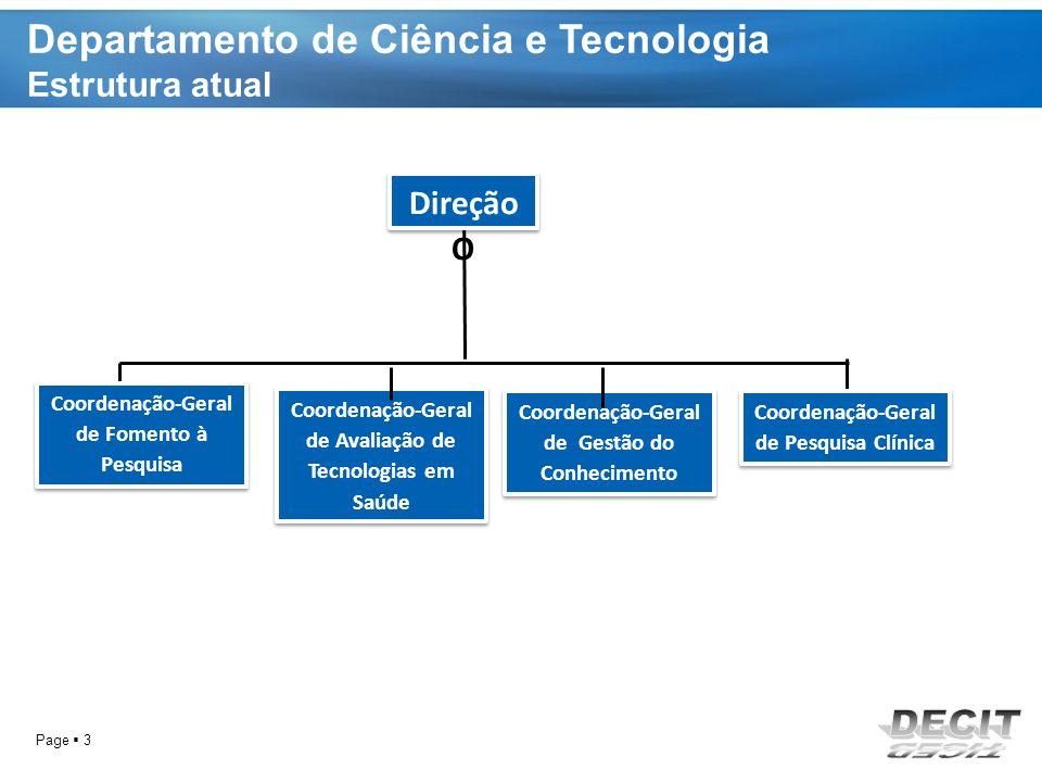 Departamento de Ciência e Tecnologia