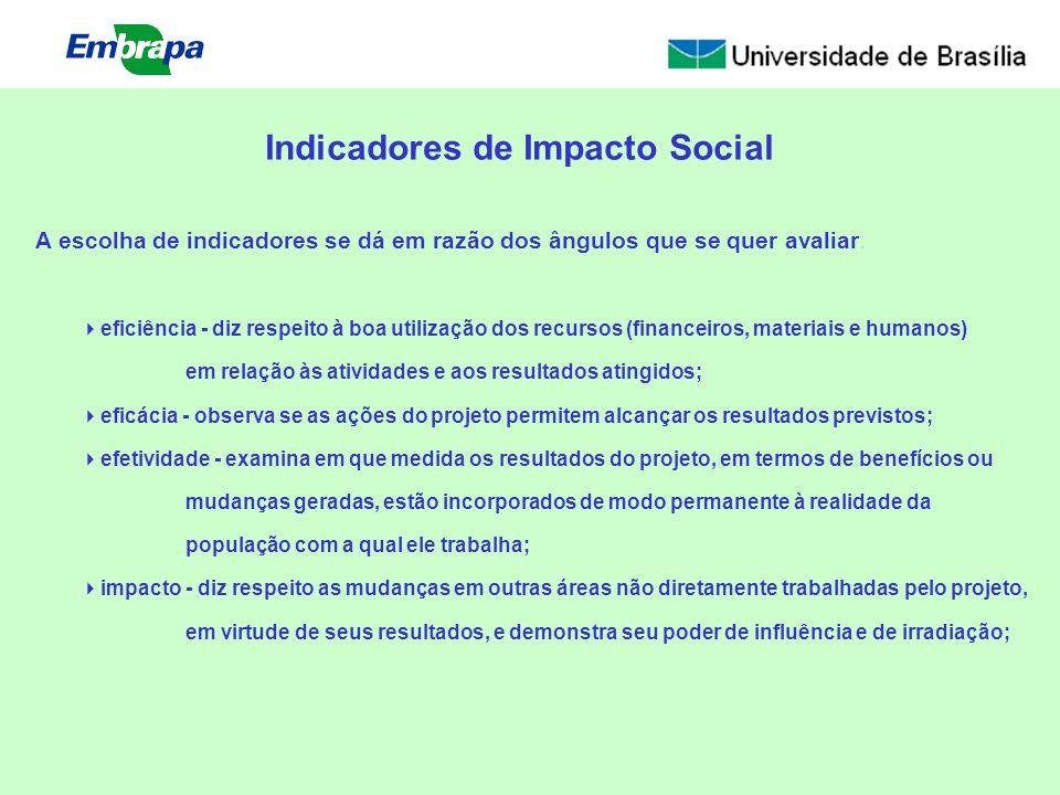 Indicadores de Impacto Social