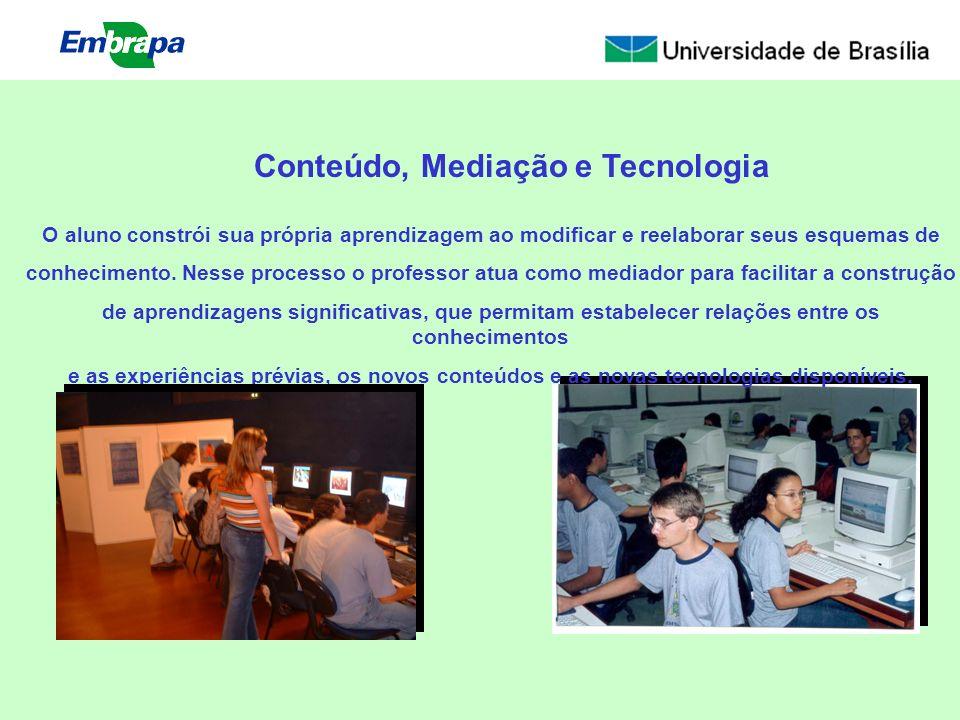 Conteúdo, Mediação e Tecnologia