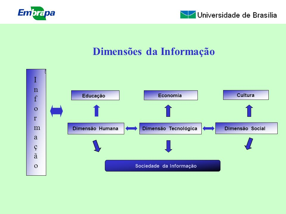 Dimensões da Informação