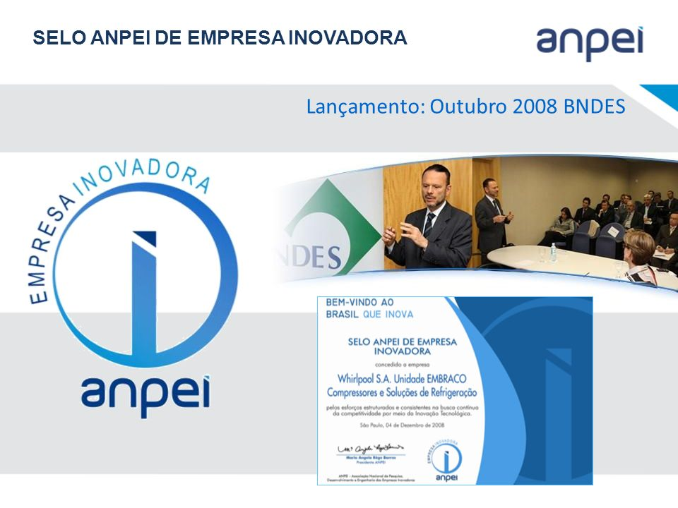 Lançamento: Outubro 2008 BNDES