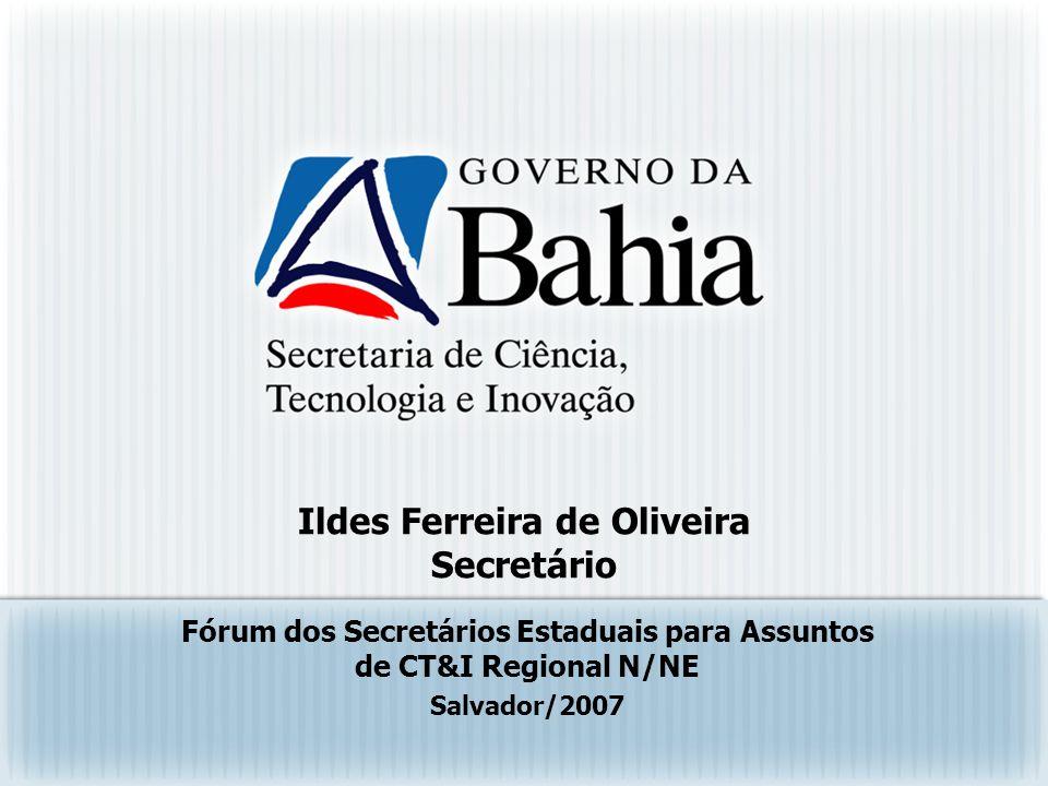Ildes Ferreira de Oliveira Secretário