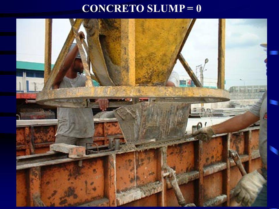 CONCRETO SLUMP = 0