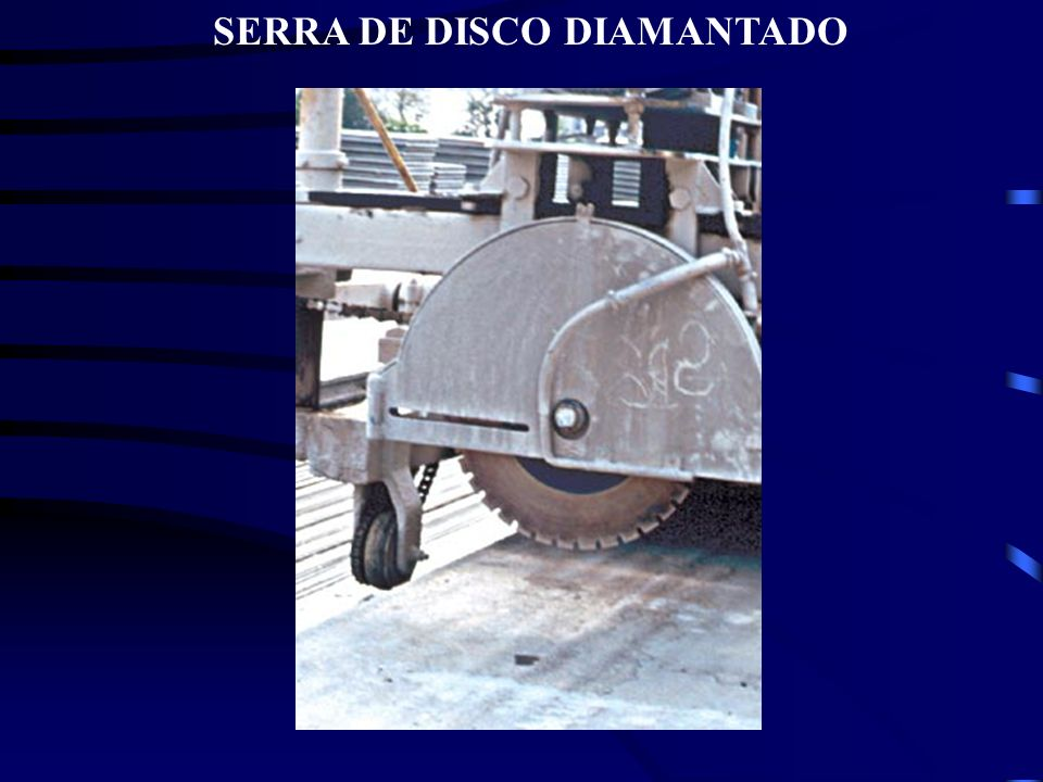 SERRA DE DISCO DIAMANTADO