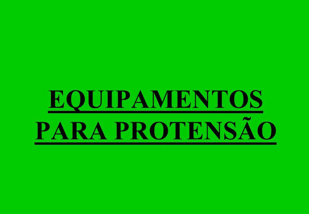 EQUIPAMENTOS PARA PROTENSÃO