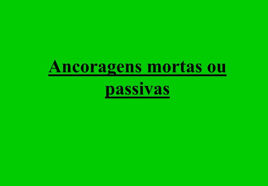 Ancoragens mortas ou passivas