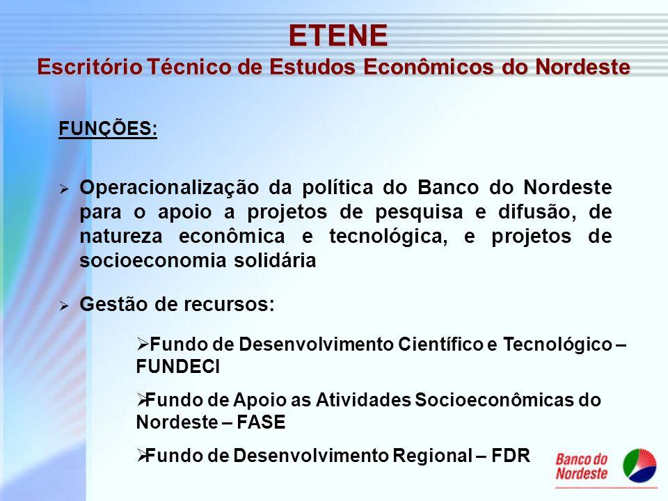 Escritório Técnico de Estudos Econômicos do Nordeste