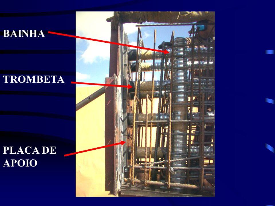 BAINHA TROMBETA PLACA DE APOIO